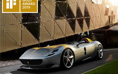 Ferrari Monza Di Daulat Mobil Desain Terbaik 2019