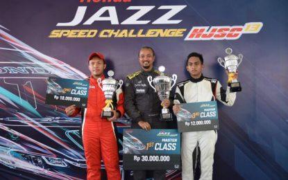 Lagi-Lagi Fitra Eri Sabet Juara Umum Honda Jazz Speed Challange 2018