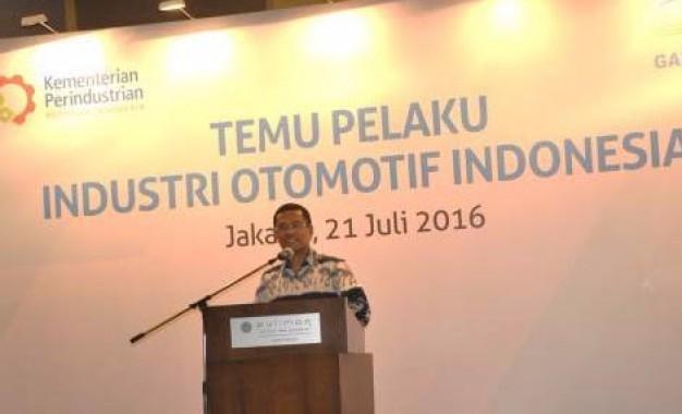 """Menperin Salih Husin, """" Industri Otomotif Menjadi Bagian Fokus Pemerintah"""
