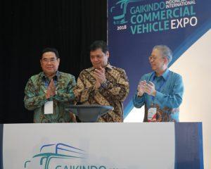Pameran Internasional Kendaraan Komersial (GIICOMVEC) Resmi di Buka