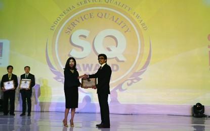 Asuransi Astra Kembali Raih Service Quality Award