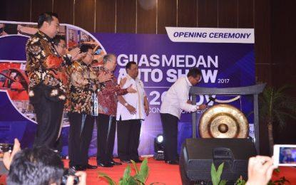 Resmi Pukul Gong, GIIAS Medan Auto Show 2017 Mulai di Gelar Hari Ini