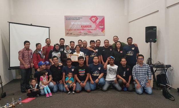 Komunitas Gravinci Spartan Peduli Kanker dan Tumor