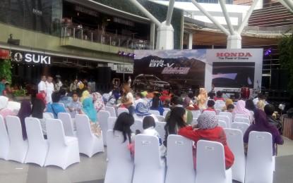 Handover Honda BR-V Ke Tangan Konsumen Di Bandung Berlangsung Meriah