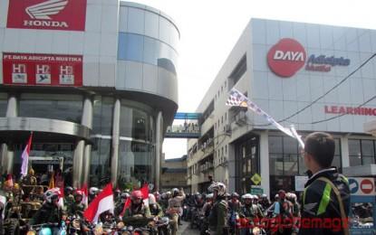 2.000 Bikers Meriahkan HUT Tiger Association Bandung ke 20
