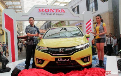 "All New Honda Jazz makin ""Cool and it's you"""