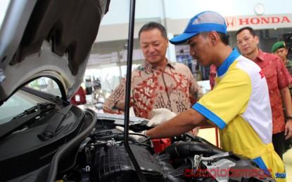 Honda Auto Serang resmi dibuka dan terbesar di Banten