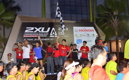 Takehiro Watanabe Hadir di 2XU Compression Run Indonesia