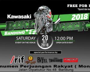 KAWASAKI BIKE WEEK 2018 Akan di Gelar Pekan ini di Bandung