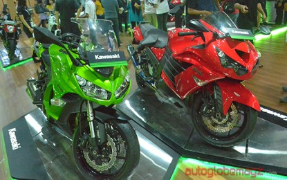 Kawasaki berikan kejutan selama Jakarta Fair 2014