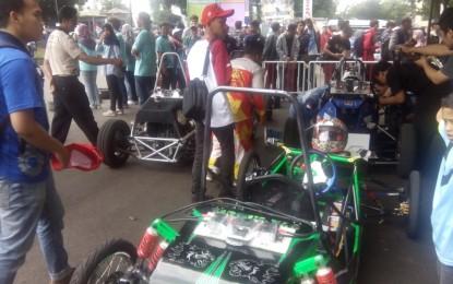 POLBAN gelar Kompetisi Mobil Listrik Indonesia