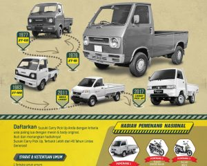 SUZUKI GELAR KONTES LEGENDA CARRY