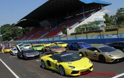 Lamborghini Indonesia Cetak Rekor Muri di Sentul