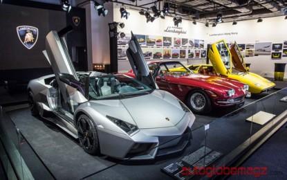 Lamborghini menghadirkan Meseum pertama kali di Hong Kong