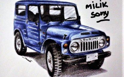 Lukisan Kendaraan Nostalgia Sony Trilaksono Mulai di Kenal Hingga ke Amerika