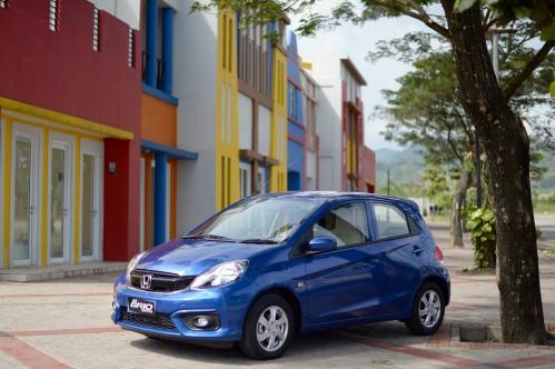 market New Honda Brio Satya