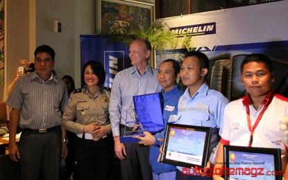 Michelin Umumkan Tiga Pengemudi Truk dan Bis Terbaik Yang Taat Berlalu Lintas