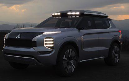 Mitsubishi Perkenalkan Engelberg Tourer Concept