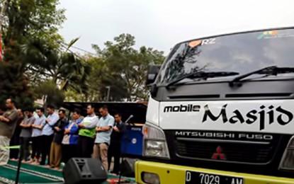 Semakin Mudah Sholat di Bandung Dengan Masjid Mobile