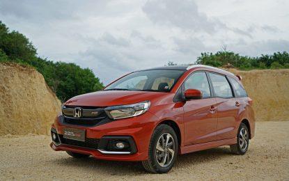 Mobilio menopang penjualan di semester satu penjualan Honda