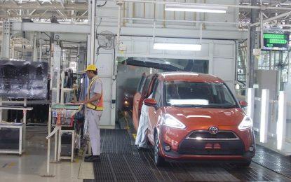 Market share Toyota tumbuh double digit di semester pertama