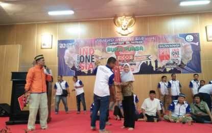 Pajero Indonesia One, Banteng Siliwangi Chapter Berbagi dengan Seribu Anak Yatim