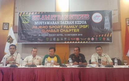 Pajero Sport Family Gelar Musda dan Buka Chapter Borneo di Kalimantan