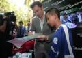 Pesepak Bola Alessandro Del Piero Kunjungi Vespa Day di Vietnam