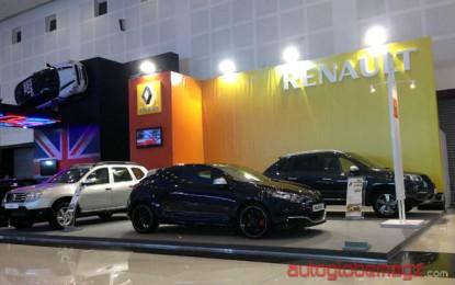Renault Hadir kedua kalinya Di Pameran Otomotif Surabaya