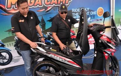 Suzuki Address Menyapa di Mega Camp Ke 4