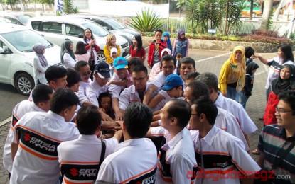 Keluarga Besar Ertiga Kongkow Bareng di Bandung