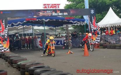 Suzuki Gelar Mega Camp Open Drag Bike Di Cimahi