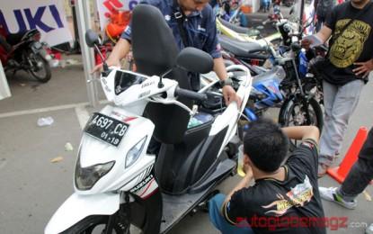 Suzuki Nex tembus 30.3 Km hanya menghabiskan 529 ml bensin