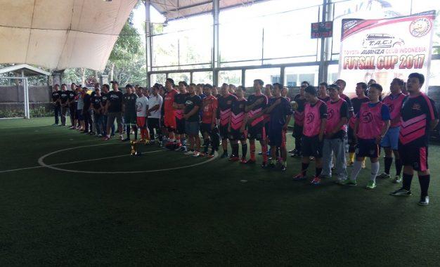 Turnamen Futsal Member TACI Menambah Solid