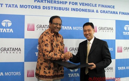 Tata Motors kerjasama Gratama Finance