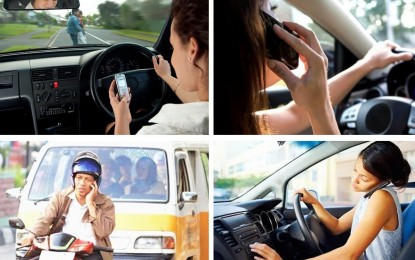 Fakta menarik berkendara sambil SMS dan Telepon di Indonesia