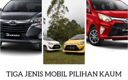 Tiga Mobil Ini Paling Di Gemari Kaum Milenial