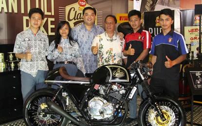 Top 1 Bersama SMK 8 Bandung Rakit Cafe Racer