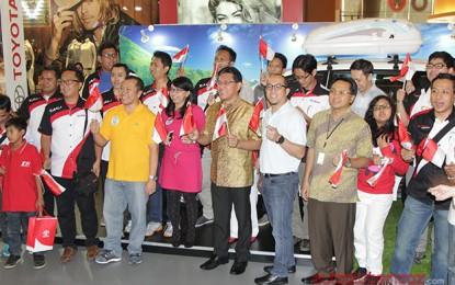 Toyota Rayakan Kemerdekaan RI ke-69 bersama pemilik Avanza