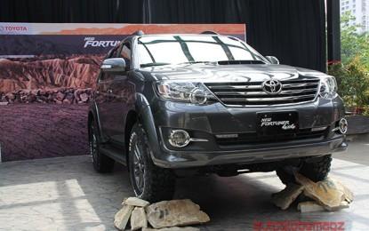 Toyota Fortuner Diesel semakin gagah dengan 4×4