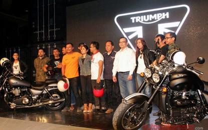 Akhirnya 12 Motor Triumph hadir secara resmi di Indonesia