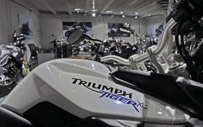 Motor asal Inggris, Triumph siap meramaikan Indonesia