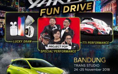 Yaris Fun Drive Besok Sapa Kota Bandung